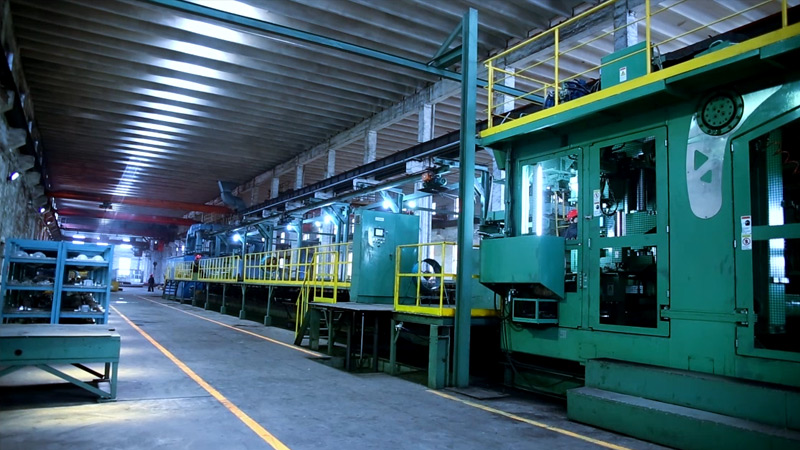 Japan Xindong 6070 automatic casting line